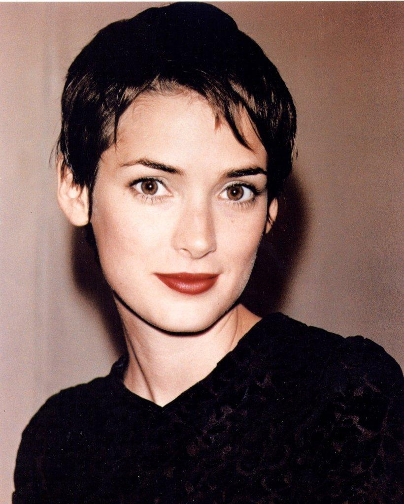 Young Winona Ryder