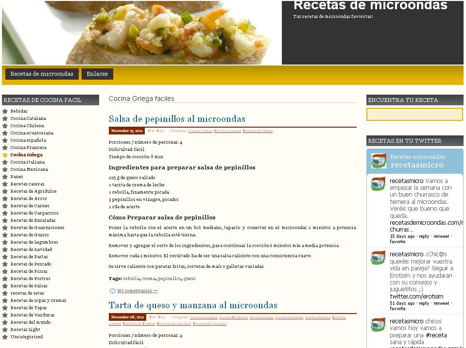 5 blogs de cocina en espa ol natified - Blog de cocina ...