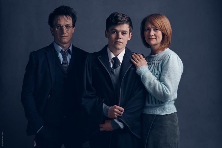 l-r-Harry-Potter-Jamie-Parker-Albus-Potter-Sam-Clemmett-Ginny-Potter-Poppy-Miller